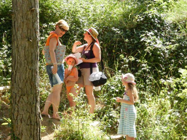 Défi parents/enfants camping var