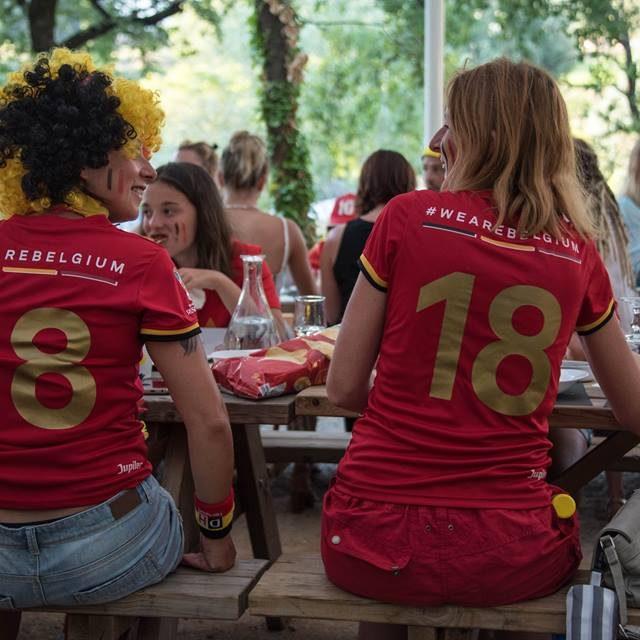 Nos compatriotes belges en fête