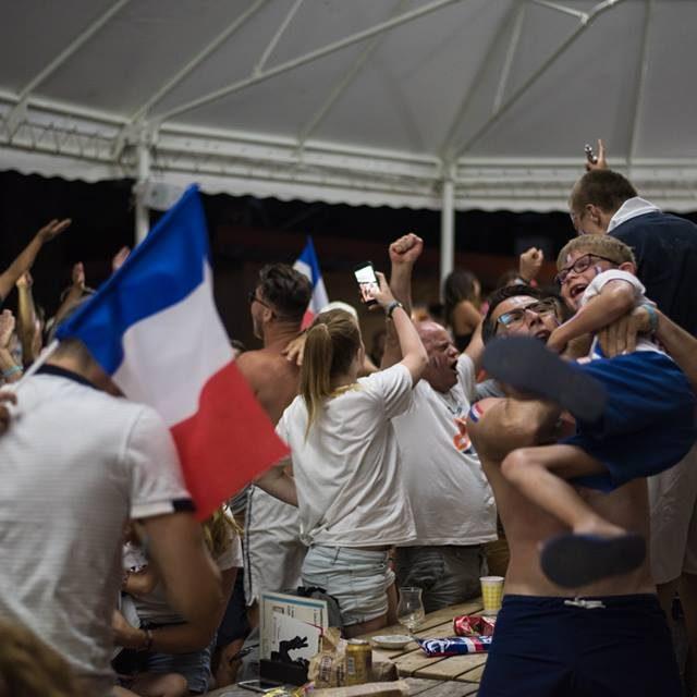 L'équipe de france a gagné la coupe du monde 2018